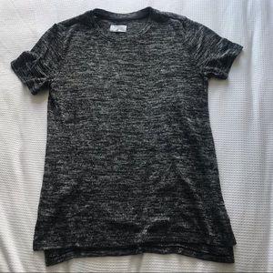 Lou & Grey Black Gray T Shirt Size XS